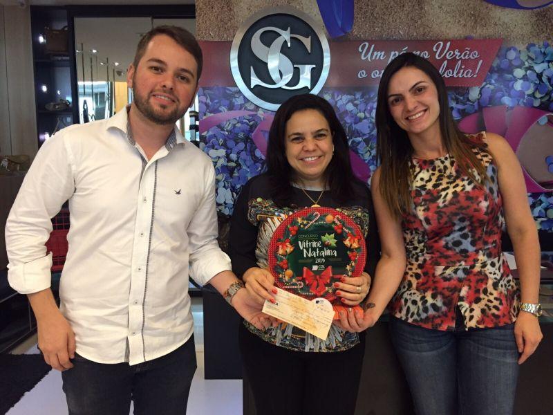 Entrega dos Prêmios Vitrines Natalinas 2015