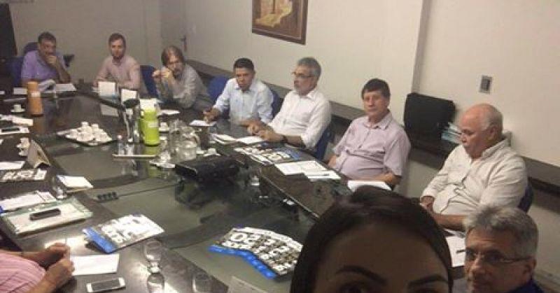 Diretoria realiza primeira reunião do ano